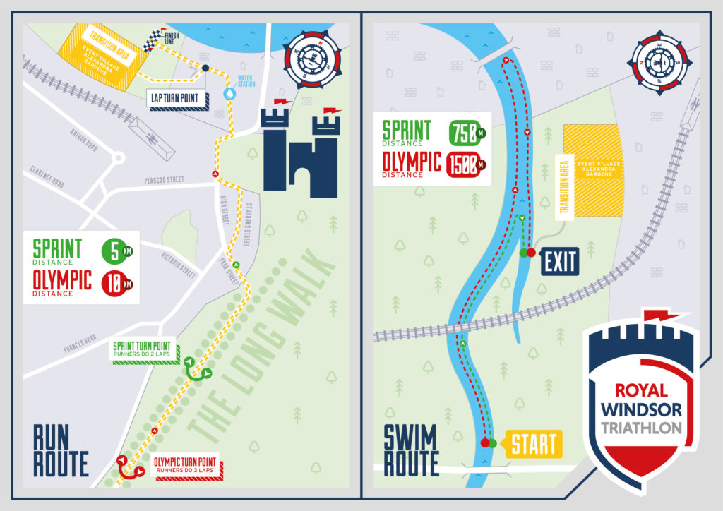 Route Maps - Royal Windsor Triathlon